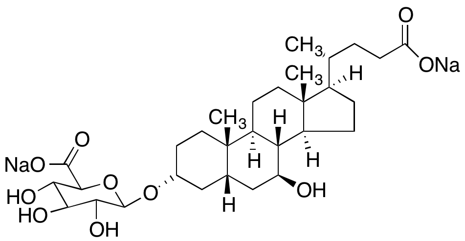 Ursodeoxycholic Acid-3-O-β-D-glucuronide Disodium Salt